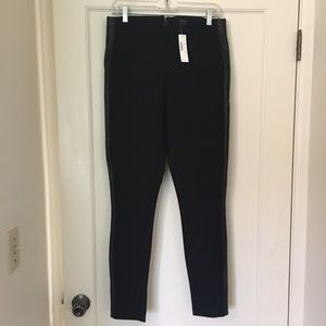 J. Crew Pants - NWT J. Crew Leather Trim Pixie Pant